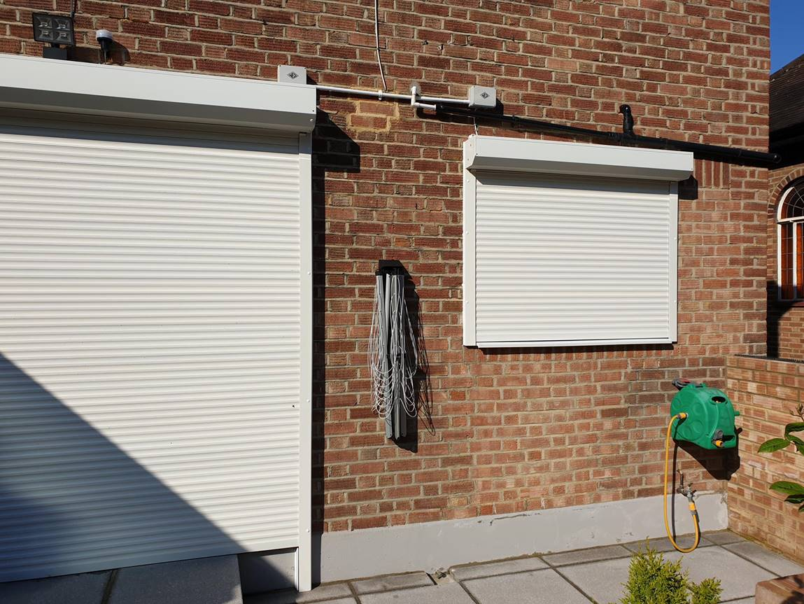 patio doors shutters croydon - Security shutter installation in Croydon