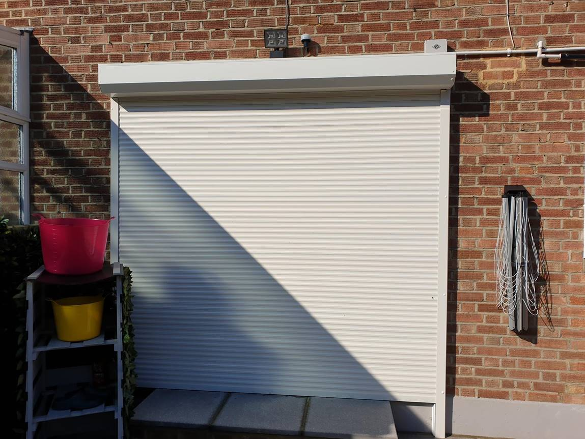 Domestic security shutters in Croydon