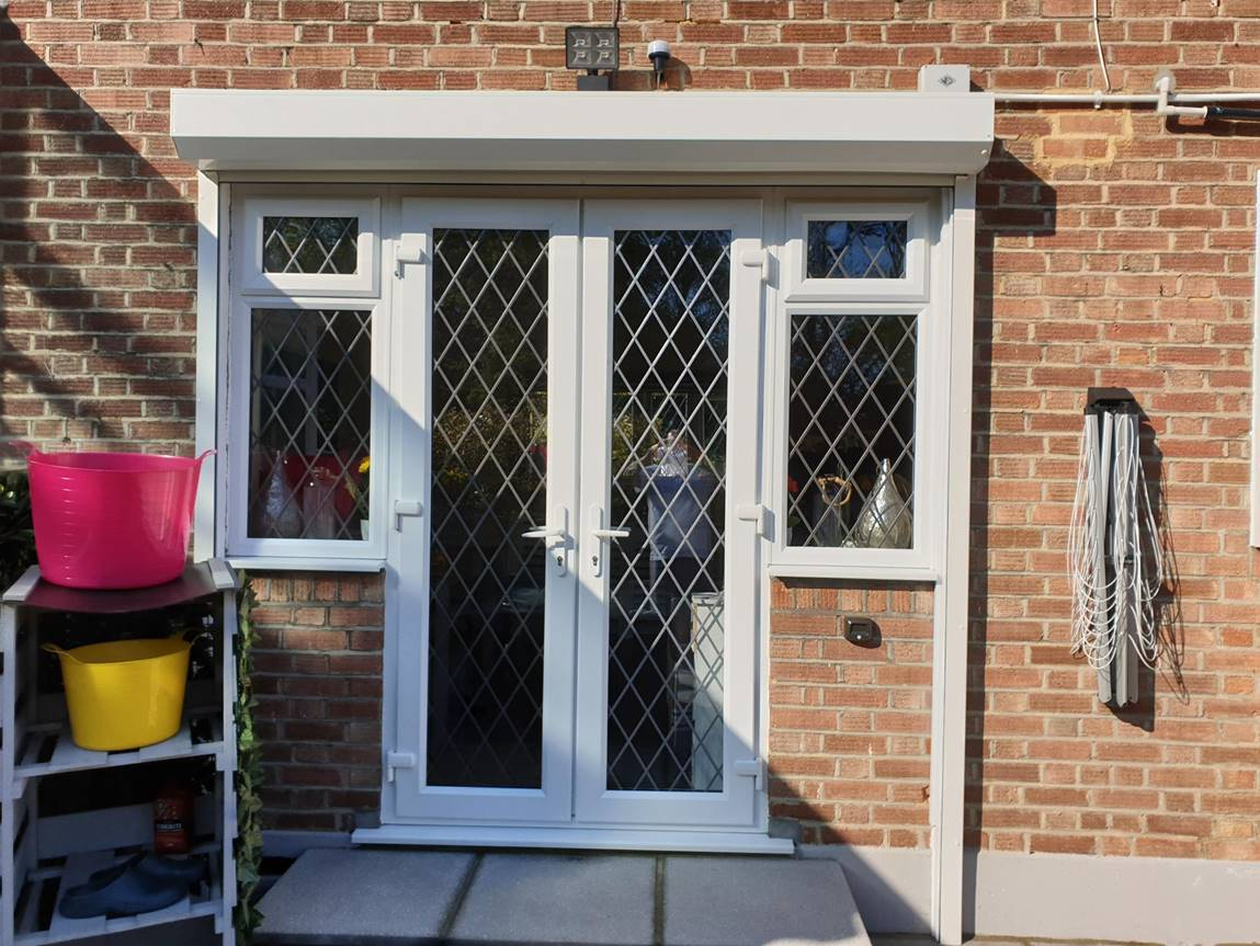 security shutters surrey open 1 - Security shutter installation in Croydon